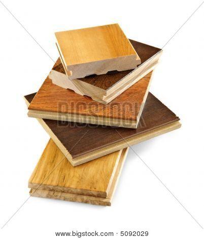 Pre fertig Hardwood Floor Proben