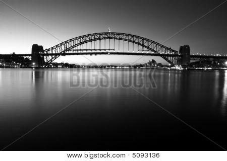 Sydney Harbour Bridge At First Light
