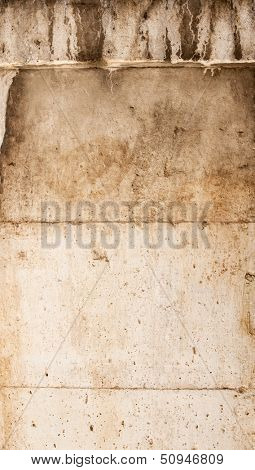 Stone fa���§ade ideal for backgrounds and textures