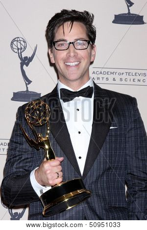 LOS ANGELES - SEP 15:  Dan Bucatinsky at the Creative Emmys 2013 - Press Room at Nokia Theater on September 15, 2013 in Los Angeles, CA