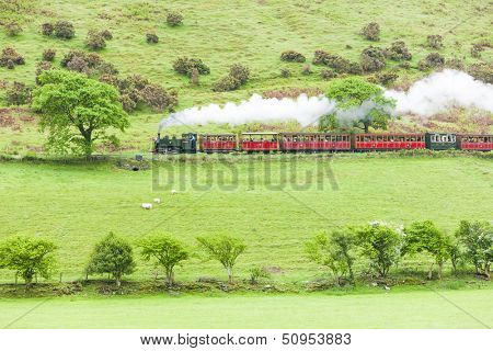 steam train, Talyllyn Railway, Wales