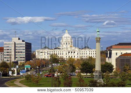 Minnesota State Capitol building, Saint Paul, Minnesota, USA