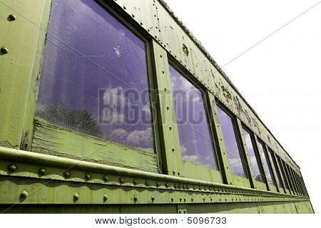 Train Car Isolated