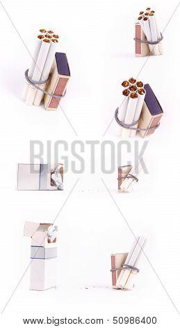 Cigarettes And Matchbox