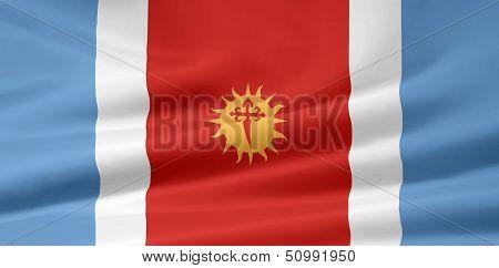 Flag of Santiago del Estera