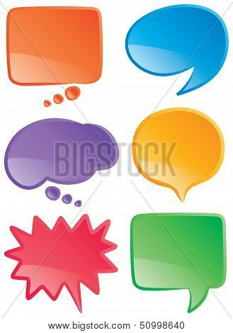 Speech Bubbles Color