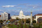 Minnesota State Capitol building, Saint Paul, Minnesota, USA poster