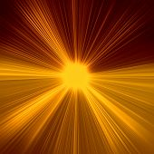Late sunset burst, abstract shiny background for design poster