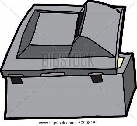Black Multifunction Scanner