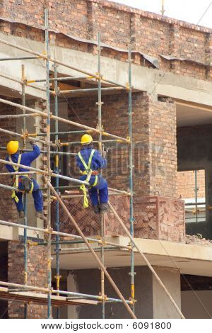 Men Working On Site