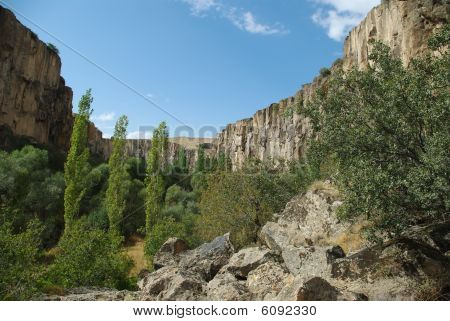 Canyon In Ihlara Valley