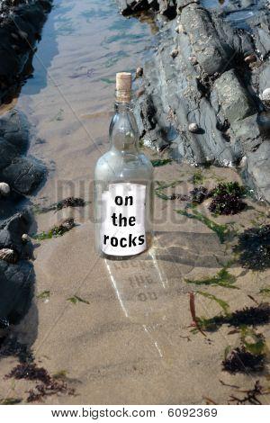 Sinking On The Rocks