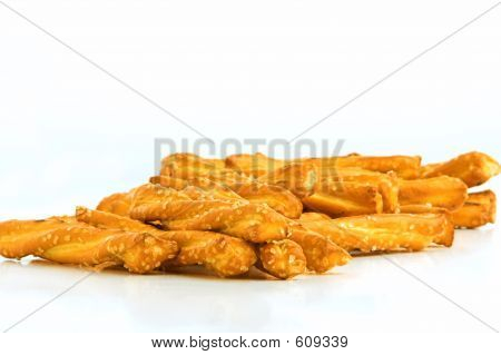Pile Of Pretzels