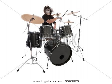 Screaming Drummer