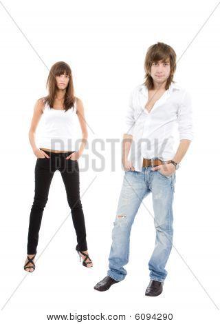 Casual, Sexy Couple