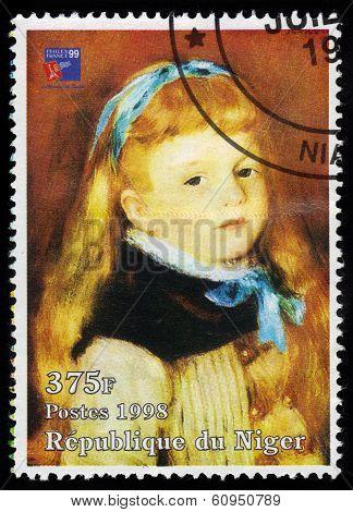 Mademoiselle Grimpel By Pierre Auguste Renoir