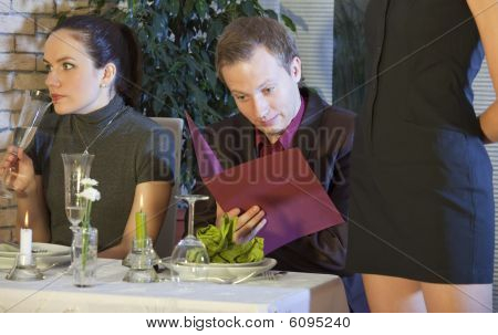 Surprised Man Checking The Bill