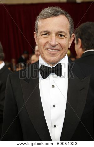 LOS ANGELES - MAR 2:: Bob Iger  at the 86th Annual Academy Awards at Hollywood & Highland Center on March 2, 2014 in Los Angeles, California