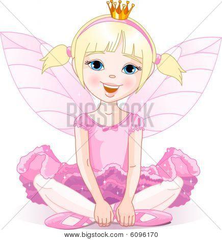 Kleine Fee Ballerina