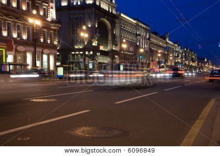 Night Petersburg