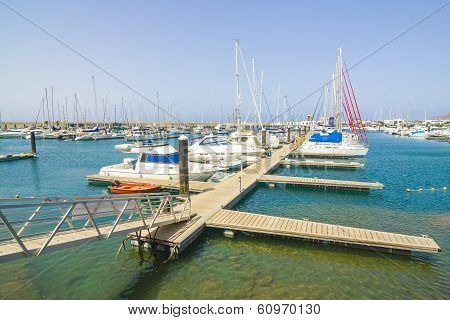 New Harbor In Playa Blanca, Lanzarote For Yachts