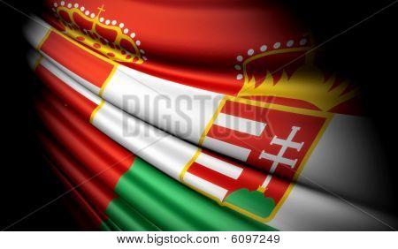 Flag of Austria -Hungary (1867-1918)