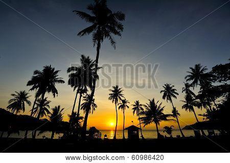 Sunrise At Wua Ta Lap Island