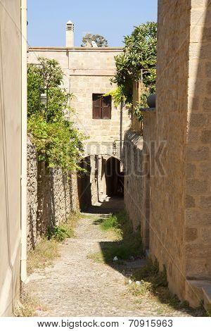 Street on Rhodes
