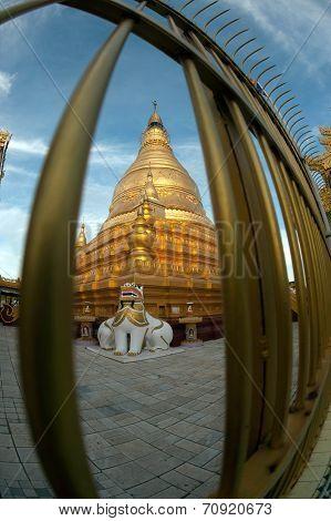 Soon U Pone Nya Shin Temple,Myanmar.