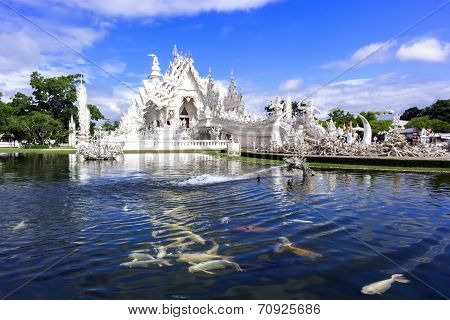 White Temple, White Fishes.
