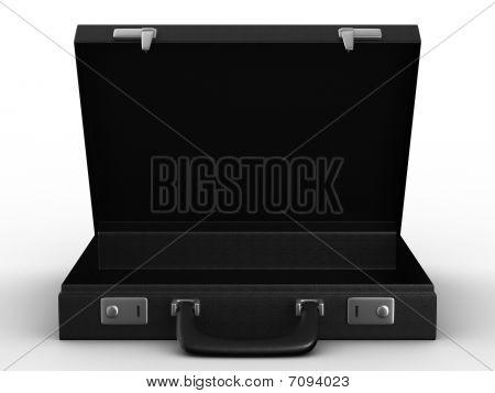 Case On White Background. Isolated  3D Image
