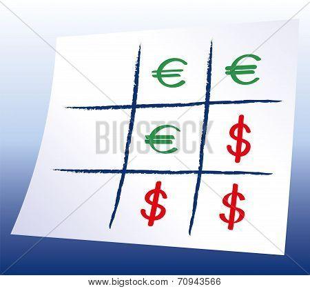 Euro Dollar Tic-tac-toe