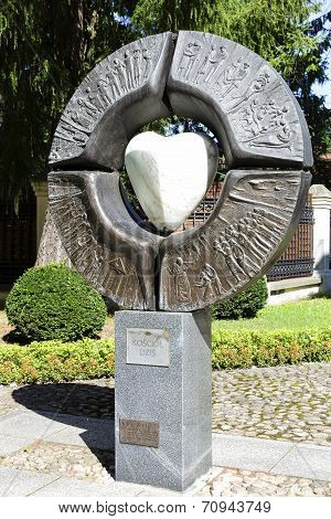 Sacral Sculpture, Titled Ecclesia, Warsaw