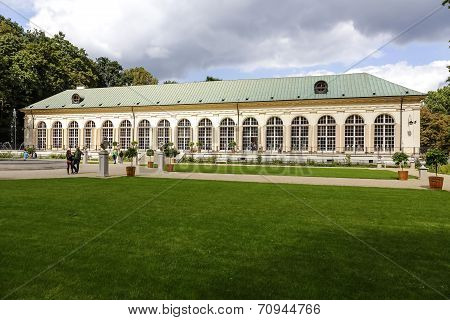 Old Orangery In Lazienki In Warsaw