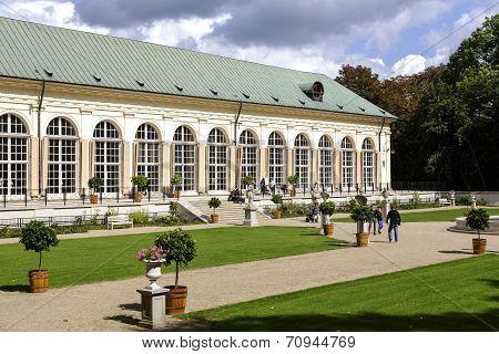 Old Orangery In Lazienki, Warsaw