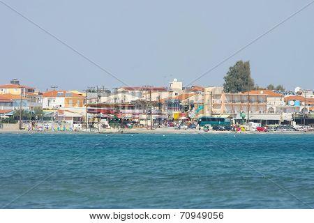 Laganas Resort On Zakynthos Island