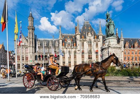 Bruges, Provinciaal Hof, Belgium