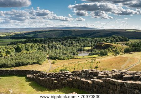 Hadrians Wall Above Old Quarry
