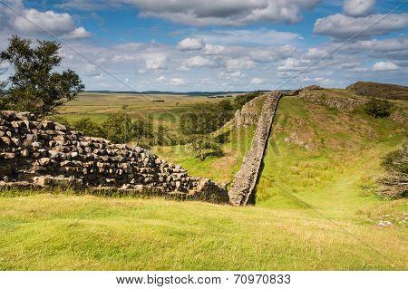 Hadrians Wall Near Walltown