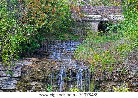 Borer's Falls in Hamilton