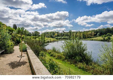 Lake Summer Landscape