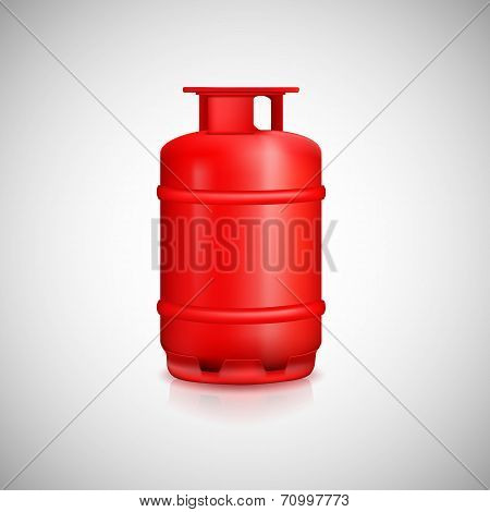 Propane gas balloon