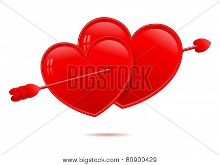Lovestruck hearts