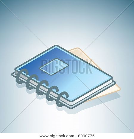 Blue Notepad