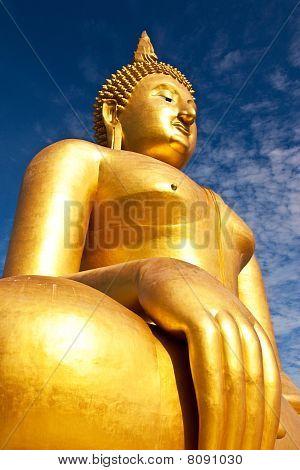 Big historic buddha