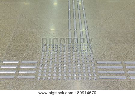 Pathway Footplate For The Blind
