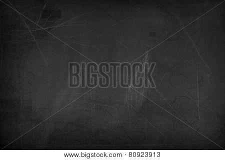 Black Blank Chalkboard For Background