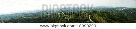 Brda landscape