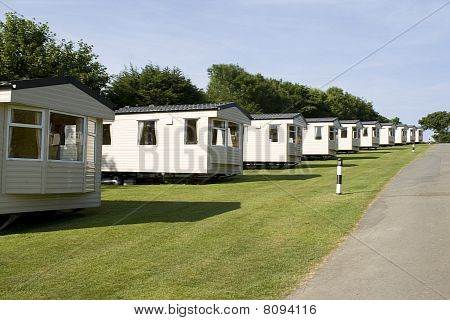 Holiday static caravans