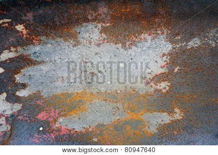 Art  Texture With Dust For Background